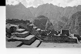 PERU -COLOUR  POSTCARD- MACHUPICCHU - INDUSTRIAL ZONE SHINING  MAILED TO ASTI (ITALY) 16/8/1981PLASTICHR POST 7300 SORRY - Peru