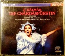 E.KALMAN. Die Csardasfurstin ( La Princesse Czardas ). 2 Cds .Denon. 1986. - Opera