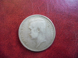 BELGIQUE - 1 FRANC ARGENT 1910 ALBERT 1ER @ KM# 72 - 1909-1934: Albert I