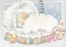 Gaëlle Thiel, Née Le 03/10/1991 à Heusy. Bébé Dans Son Couffin, Jouets. - Naissance & Baptême