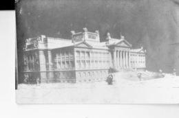 URUGUAY 1923 -VINTAGE  POSTCARD- MONTEVIDEO . PALACIO LEGISLATIVO (EN CONSTRUCCION)NOT SHINING MAILED TO ROME SEP 15,192 - Uruguay