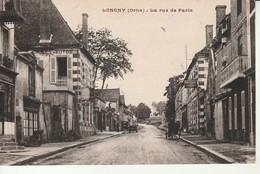 Longny-La Rue De Paris. - Longny Au Perche
