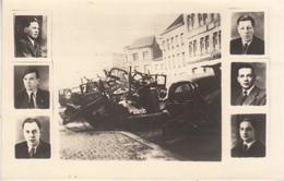 Sabotage Des Autos Allemandes - Place De La Gare à Ath - Format 8.5 X 14 Cm - Historical Documents