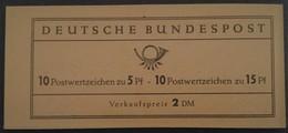 1963 Markenheftchen 8 Albertus/Luther - [7] République Fédérale