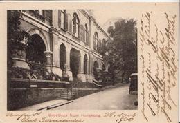 Hong Kong Picture Post Card Sent To Russia From 1900 - China (Hong Kong)