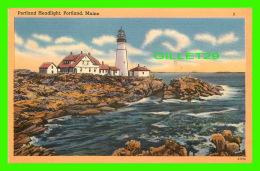 PHARES, LIGHTHOUSE - PORTLAND HEADLIGHT -  TICHNOR BROS INC - - Phares