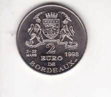 France 2 Euros  BORDEAUX  Le Pont De Pierre 1998 - Euros Of The Cities