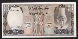 SIRIA (SYRIA)  :  500  Pounds - 1992- P105f - AUNC - Syrie
