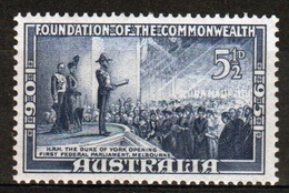 Australia 1951 Single Stamp From The Set To Celebrate 50th Anniversary Of The Commonwealth Of Australia. - 1937-52 George VI