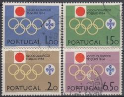 PORTUGAL 1964 Nº 949/52 USADO - 1910-... République