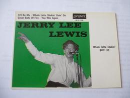 JERRY LEE LEWIS :  Whole Lotta Skakin' Goin' On - London  - Voir Les 2 Scans - Singers & Musicians