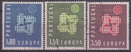 PORTUGAL 1961 Nº 888/90 USADO - 1910-... République
