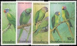 Thailand 2001 Parrots Unmounted Mint. - Thailand