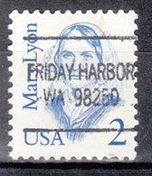 USA Precancel Vorausentwertung Preo, Locals Washington, Friday Harbor No Precancel - Vereinigte Staaten