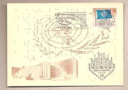 Nazioni Unite Ginevra - Cartolina Con Annullo Speciale: 25° Anniversario Delle Nazioni Unite  - 1976*G - Storia Postale