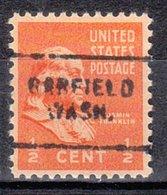 USA Precancel Vorausentwertung Preo, Locals Washington, Garfield 703 - Vereinigte Staaten