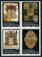 Albania Stamp 1998. Albanian Codices Of The XI Century. Codex. Bible. Set MNH. Mich. 2669-2671 - Albania