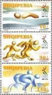Albania Stamps 2001. Mediterranean Games, Sport. Tunis 2001. 2818-2820. Set MNH. - Albania