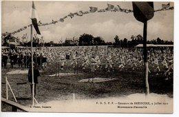 Bressuire : FGSPF - Concours De Bressuire 9 Juillet 1911 - Mouvements D'ensemble - Bressuire