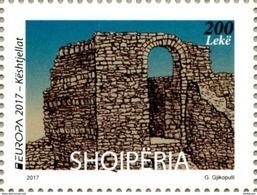Albania Stamps 2017. Europa/Europe CEPT: Castles. Set MNH - Albania