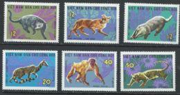 Vietnam Du Nord YT 535-540 XX / MNH Animal Wildlife - Viêt-Nam