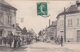 LES THILLIERS-en-VEXIN - Route De Paris à Rouen - Hôtel De La Poste - Belle Animation - RARE - Frankreich