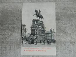 RUSSIE SAINT PETERSBOURG MONUMENT DE NICOLAS I - Russie