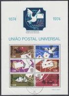 PORTUGAL 1974 HB-15 USADA - Hojas Bloque