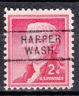 USA Precancel Vorausentwertung Preo, Locals Washington, Harper 729 - Vereinigte Staaten