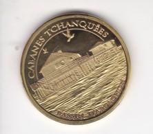 Jeton Médaille Souvenirs Et Patrimoine Cabanes Tchanquées Bassin D'arcachon - Touristiques
