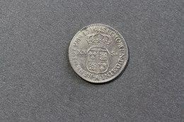 Monnaie En Argent, France Louis XV, 20 Sols, 1/6ème Ecu Dit De France, Navarre Et Béarn, 1719, Lettre A : Paris - 987-1789 Royal