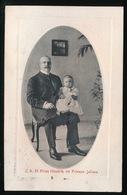Z.K.H. PRINS HENDRIK EN PRINSES JULIANA - Koninklijke Families
