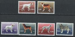 Yougoslavie YT 1274-1279 XX / MNH Chien Dog - Neufs