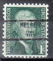 USA Precancel Vorausentwertung Preo, Locals Washington, Keller 841 - Vereinigte Staaten