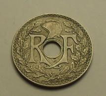 1938 - France - 25 CENTIMES, Lindauer, Maillechort, (point Avt Et Après La Date), KM 867b, Gad 381 - F. 25 Centesimi