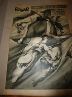 1952 RADAR:Homme Contre Requin à Beg-Meil;Saïgon;Guerre-Corée;Eva Peron;Coppi,Robic;Enfant Enchainé à Camden;Toulouse;et - Zeitungen