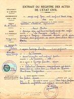 Fiscal, Fiscaux, Département De La Réunion, Taxes Communales 75 Francs Surchargé - Fiscaux