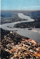 CENTRAFRIQUE - BANGUI : Vue Aérienne - CPSM GF écrit En 1968 - Afrique Noire - Black Africa - Centrafricaine (République)