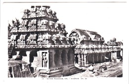 Madras, The 7 Pagodas, Real Photo,1932 - India