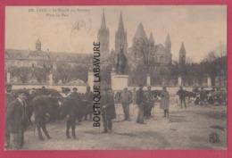 14 - CAEN-----Le Marché Aux Bestiaux--Place Du Parc--animé - Caen