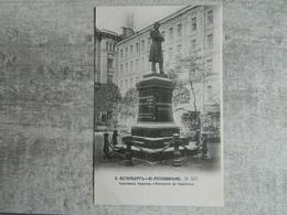 RUSSIE SAINT PETERSBOURG MONUMENT DE POUCHKINE - Russie