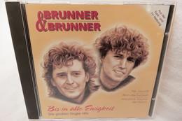 """CD """"Brunner & Brunner"""" Bis In Alle Ewigkeit, Die Grossen Single-Hits - Música & Instrumentos"""