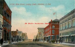 274545-South Dakota, Aberdeen, Main Street, Looking South, No 6756 - Aberdeen