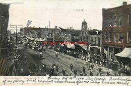 274547-South Dakota, Aberdeen, Main Street, Parade, Marching Band, 1906 PM, EC Kropp No 2381 - Aberdeen