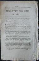 30 SAINT GILLES BOULANGER ORDONNANCE SUR L'EXERCICE DE BOULANGER AVEC SES REGLES  OBLIGATIONS ET TARIFS  1823 - Décrets & Lois
