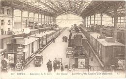 Dépt 37 - TOURS - Intérieur De La Gare - Les Quais - LL N° 252 - Tours