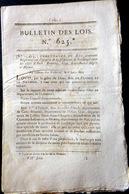 32 AUCH 60 BEAUVAIS 45 GIE BOULANGER ORDONNANCE SUR L'EXERCICE DE BOULANGER AVEC SES REGLES  OBLIGATIONS ET TARIFS  1823 - Décrets & Lois
