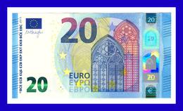 "20 EURO ""UD"" FRANCE  Firma DRAGHI U025 D4  CH 66 UNC SEE SCAN!!!!!! - EURO"