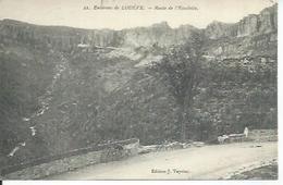 22 - ENVIRONS DE LODEVE - ROUTE DE L'ESCALETTE - Lodeve