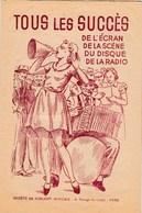 Tous Les Succès Ecran Scène Disque Radio 37 Chansons Méditerranée,Facteur De Santa-Cruz,Alors...raconte,Bambino,Domani.. - Musique & Instruments